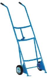 Carrello Porta Fusti Manuale In Acciaio Kg300 Mod23f