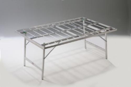 Tavoli Pieghevoli Alluminio Per Ambulanti Usati.Dettagli Su Banco Ambulanti Per Bancarelle Banchi Per Mercati Alluminio Pieghevole 80x150x63