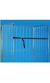 Cinghia In Nylon Accessorio Per Carrello Roll Scaffale Contenitore Mm1
