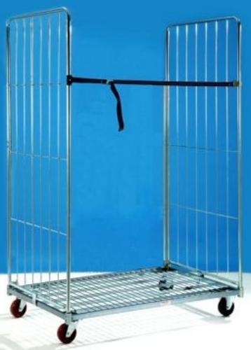Offerte pazze Comparatore prezzi  Rollpak Scaffale Carrello Componibile Cm120x80x180 Base2 Pareti Mod040  il miglior prezzo