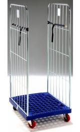 Offerte pazze Comparatore prezzi  Carrello Contenitore Roll Container Base Plastica Mm805x715xh1800 Md04  il miglior prezzo