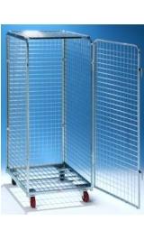 Carrello Roll Antifurto Contentenitore Sicurezza Mm805x715xh1800