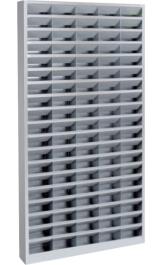 Scaffali A 95 Caselle Fisse 10x20 Porta Oggetti Mm1000x150x2000h