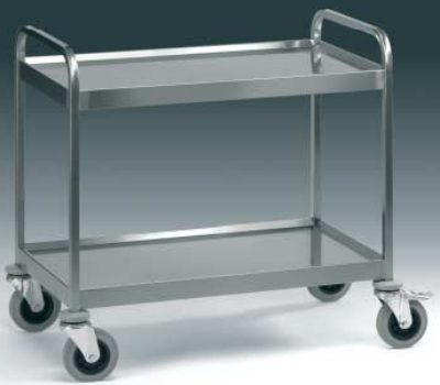 Carrello servizio cucina carrelli in acciaio inox 2 for Scatolati in acciaio inox