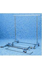 Stender Appendiabiti Espositore Pieghevole Ruote 500xh1500 2000