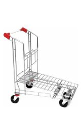 Carrello self service cash & carry pianetta imbottigliabile brico cm.98x58x104 portata Kg.200