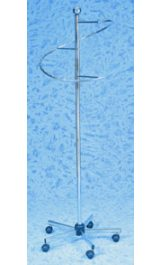 Stender Appendiabiti Espositore A Spirale Doppia H1840 2150mm