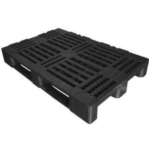 Pallet In Plastica Forato Per Industria 2t 3p Cm80x120 Kg4000