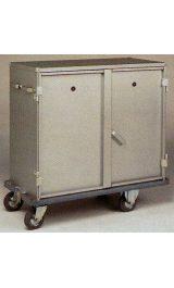 Carrello In Alluminio Leggero Armadio Chiuso Mm1130x545xh920