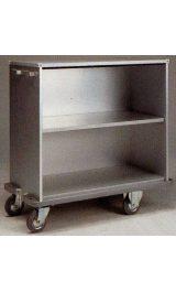Carrello In Alluminio Leggero Armadio Cm113x54xh92 Con Ripiano