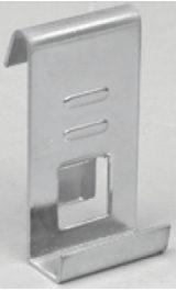 Supporto Mod6025f Per Ripiano Griglia A Filo Metallico Pz10 Per Esposi