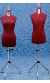 Busto Regolabile Sartoria Uomo O Donna Colore Bordeaux 6305f