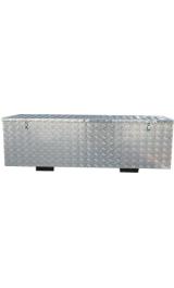Baule Grande Cassa Contenitore In Alluminio Cm142x535xh505