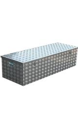 Baule Medio Cassa Contenitore In Alluminio Cm122x435xh405