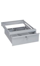 Cassetto In Ferro Con Serratura Per Tavolo Da Lavoro 515x630h220
