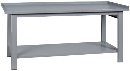 Banco Da Lavoro In Ferro Con Piano Inferiore Cm200x75x90