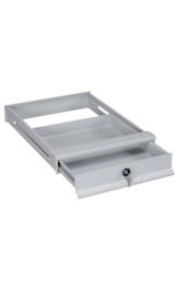Cassetto In Ferro Con Serratura Per Tavolo Da Lavoro 515x630xh80