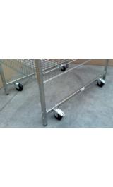 Kit 4 Ruote D100 Polipropilene Per Bancarelle Rigide 000000071f