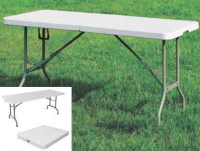 Tavoli Richiudibili Da Giardino.Dettagli Su Tavolo Da Giardino E Campeggio Con Piano E Gambe Pieghevoli Cm 180x76xh74
