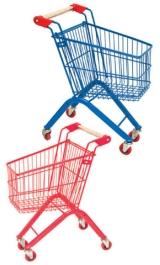 Carrello Per Bambini Da Supermercato Self Service Spesa Baby Olimpus L