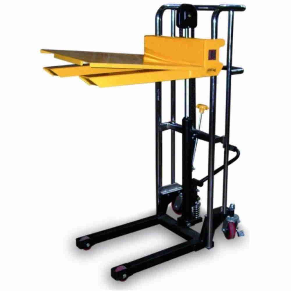 Carrello Elevatore Sollevatore A Trazione E Sollevamento Manuale Kg400