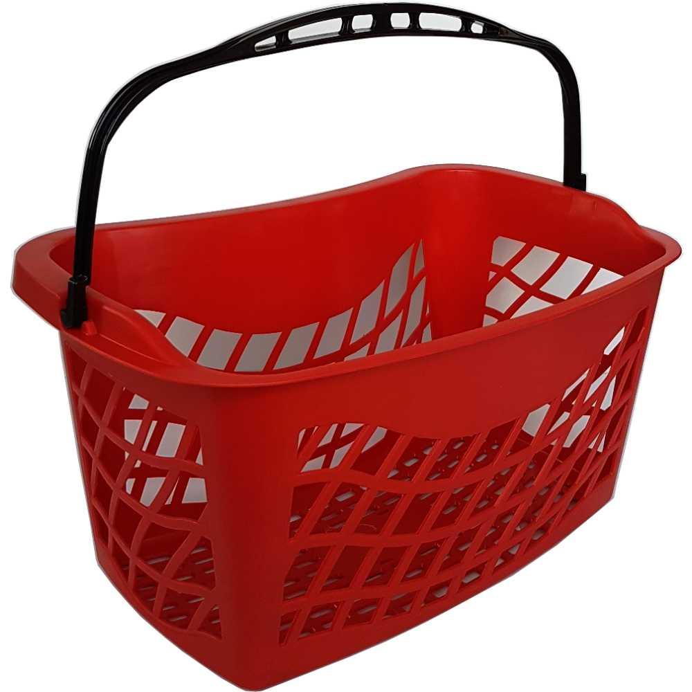 Cestino Spesa Ergonomico Per Negozi Cestello Selfservice In Plastica A