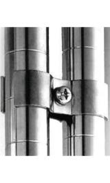Connettori Fra Tubi Per Aggancio A Muro Per Montanti Archimede