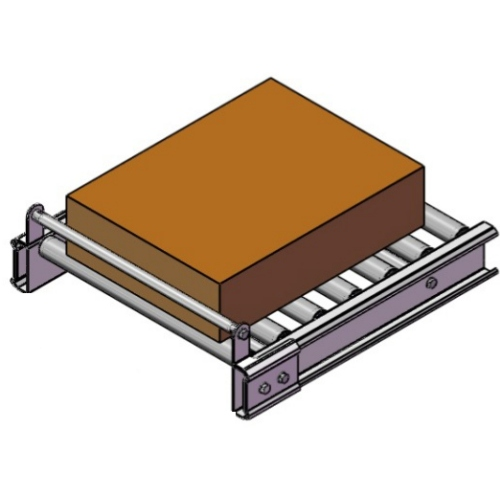 Ferma Pacchi Stop Bar Mm800 Normale Per Rulliere Lineari Folli