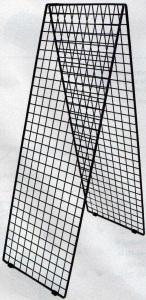 Griglie Griglia Espositiva doppio Filo per Espositore cm 100x100 Arredo Negozi