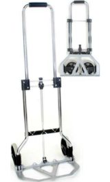 Carrellino Pieghevole In Alluminio Portapacchi Portata Kg45 Mod Gzs50f
