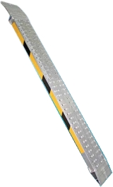 Coppia Rampe Pedane Di Carico Leggere In Alluminio Anticorrosivo Mm250