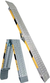Rampe Di Carico Pieghevoli In Alluminio Anticorrosivo Pz2 H 35 Mm1500