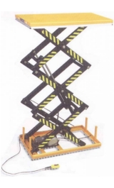 Piattaforma Elettroidraulica Piano Fisso Cm160x101 Kg1000 H300