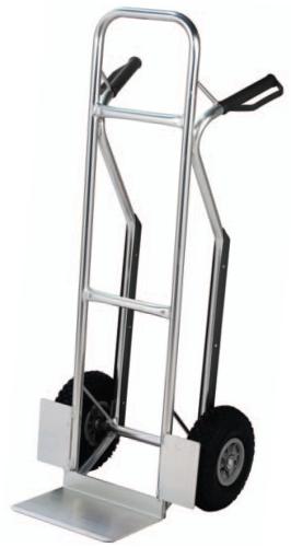 Carrello Leggero In Alluminio Con Scivolo Ruote Pneumatiche Per Scale