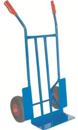 Carrello Robusto Manuale Ruote Pneumatiche Portacasse Portata Kg300 Mo