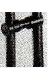 Kit Fissaggio Colonna Colonna Nero 9950039001f