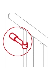 Kit Irrigidimento Colonna Colonna Fermo Block Per Scala Exterior