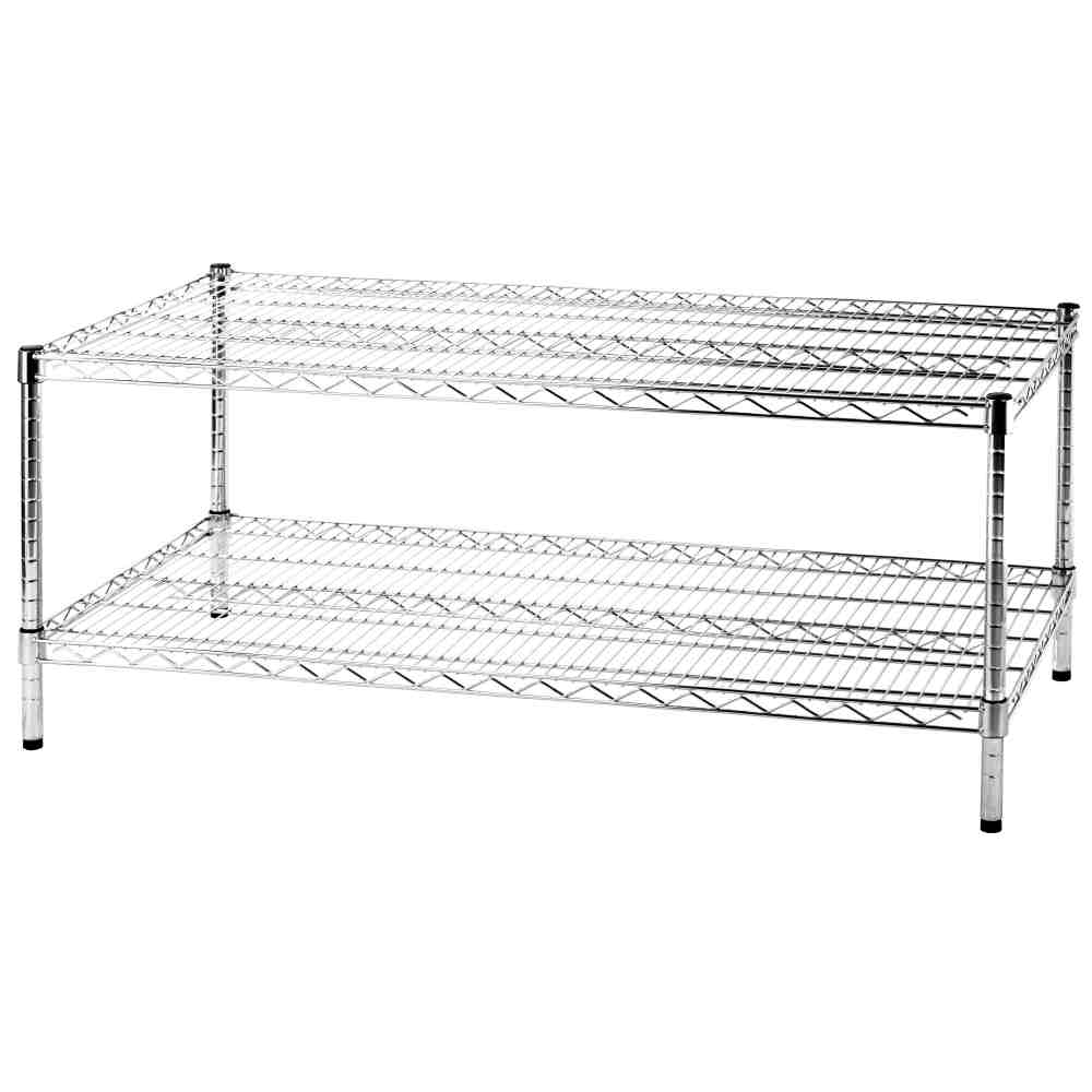 Libreria scaffale componibile heavy a 2 piani in acciaio for Kit di casa a 2 piani