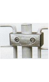 Morsetto Tubo Per Collegamento Verticale Lineare 2 Griglie Accessori P