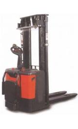 Sollevatore Semovente Elettrico 24v Kg1200 H3200mm Con Pedana