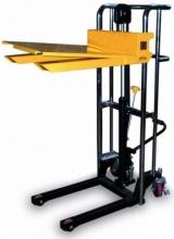 Elevatore Manuale Piattaforma E Forche Regolabili Kg400 Hcm150