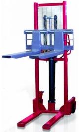Carrello Sollevatore Manuale Forche Regolabili Kg1000 Hcm160