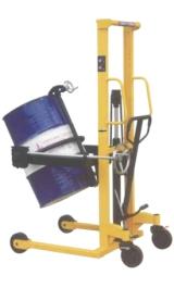 Carrello Sollevatore Manuale A Colonna Porta Fusti Portata Kg350