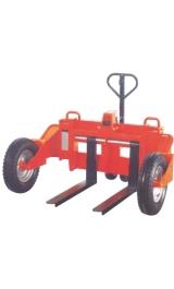 Transpallet Idraulico Manuale Per Suoli Disconnessi Kg1200 Nt12f