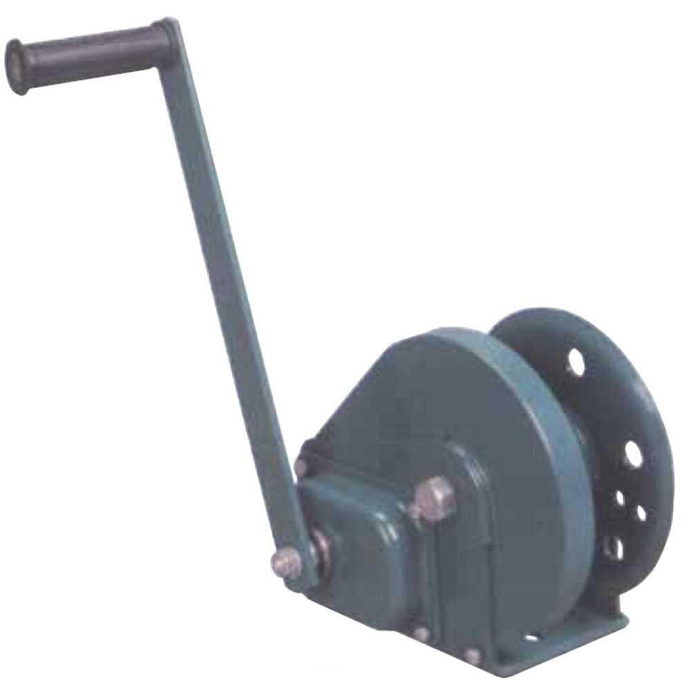 Verricello Manuale In Metallo Per Sollevamento E Trazione Portata Oriz