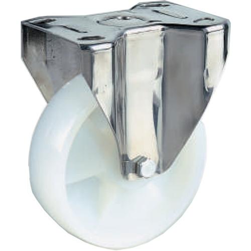 Ruota Per Carrelli In Nylon Bianco Supporto Fisso D200mm Inox