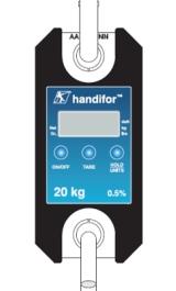 Dinamometro Digitale Con Indicatore Di Carico E Trazione Kg 20