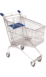 Carrello Per Supermercato Self Service Spesa Olimpus Da 125 Litri Arre