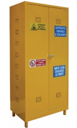 Armadio Sostanze Chimiche Pericolose Infiammabili 1000x450x2130h