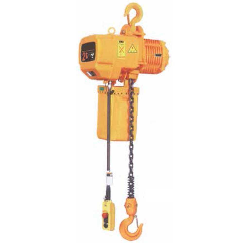 Paranco Elettrico Trifase A Catena Per Sollevamento Portata Kg5000 Alz